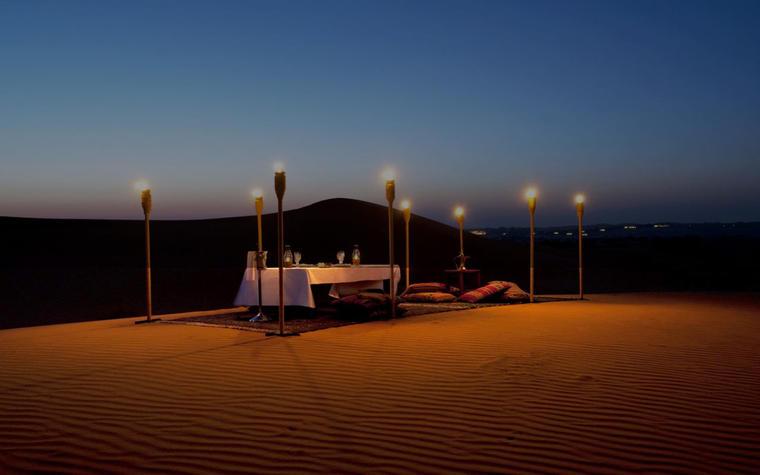 Thar Desert Camping Under the Lightning Stars