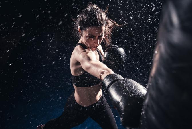 Boxing  For Burn Belly Fat Calories