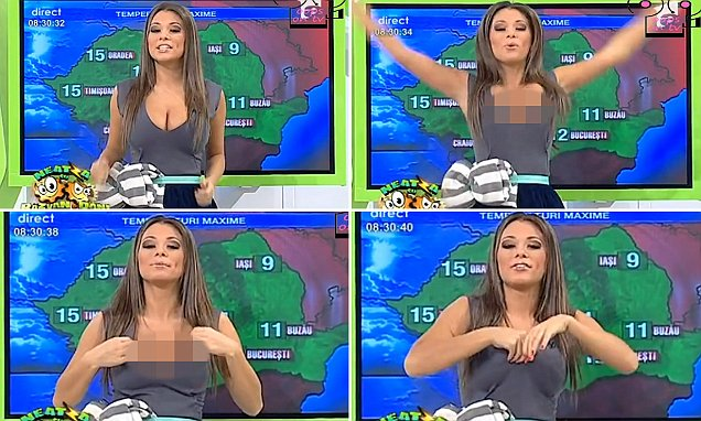 Most Famous and Hot Weather anchor Girl
