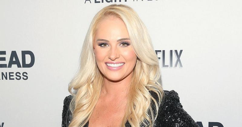 Tomi Lahren had a drink thrown over Her in a feast, Now it had turned Political involving Donald Trump.