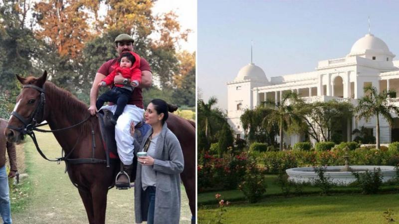 Saif Ali Khannad Kareena Kapoor Khan's Home - Royal Patoudi Haveli