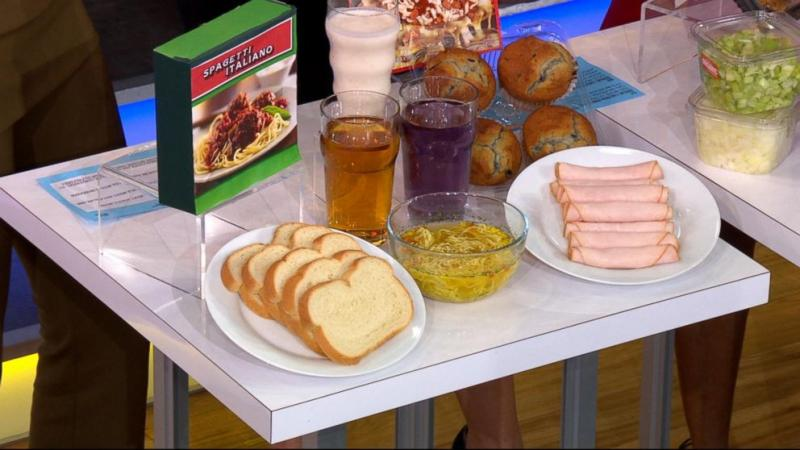 2. Eating processed foods for breakfast