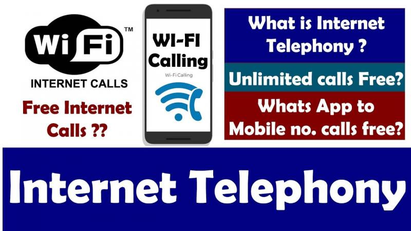 Internet telephony Call Using Broadband