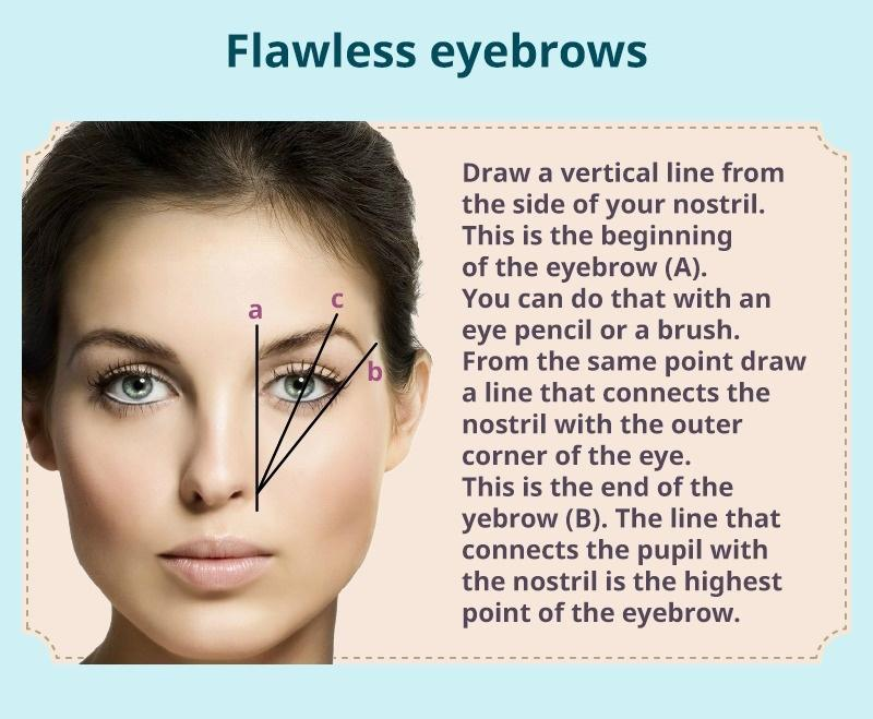 How to make flawless eyebrows in summer