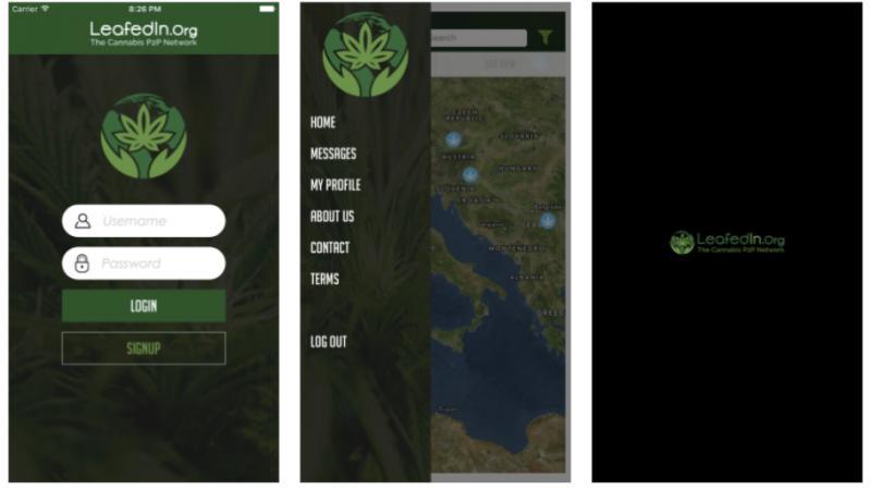 Marijuana Community App