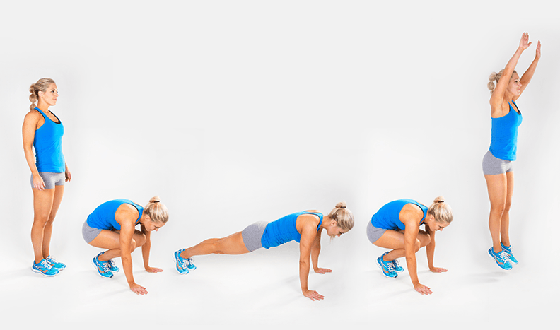 Burpees For Burn Belly Fat Calories