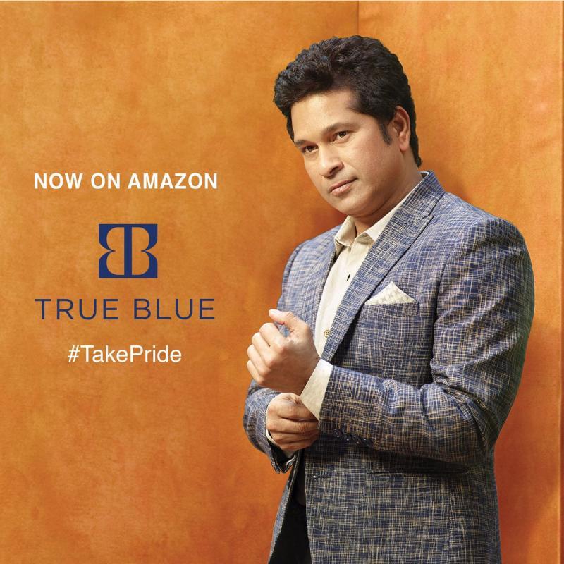 8. Sachin Tendulkar 's Fashion Brand - True Blue