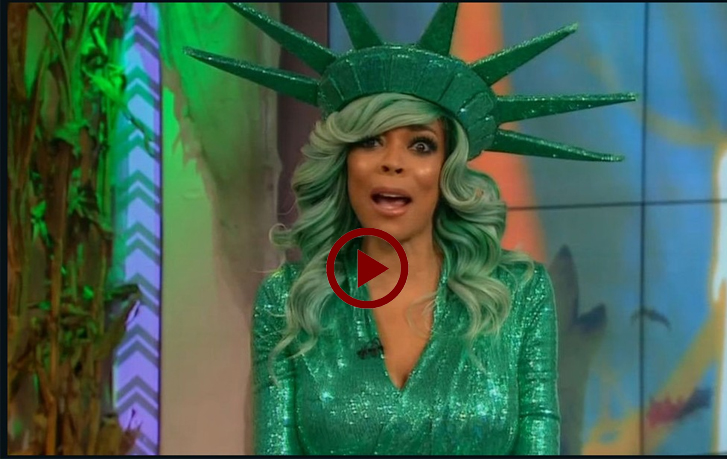 Wendy Williams embarrass moment @ Live Tv show
