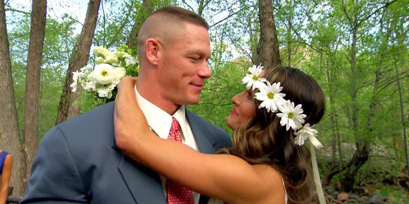 John Cena and Nikki Bella wedding.