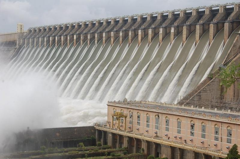 Nagarjuna Sagar dam largest dams in India