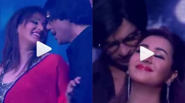Shilpa Shinde and Sunil Grover 'rain dance' to Hum Tum song in viral video.