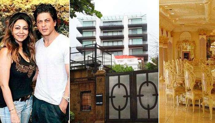 Shah Rukh Khan and Gauri Khan's Home Mannat