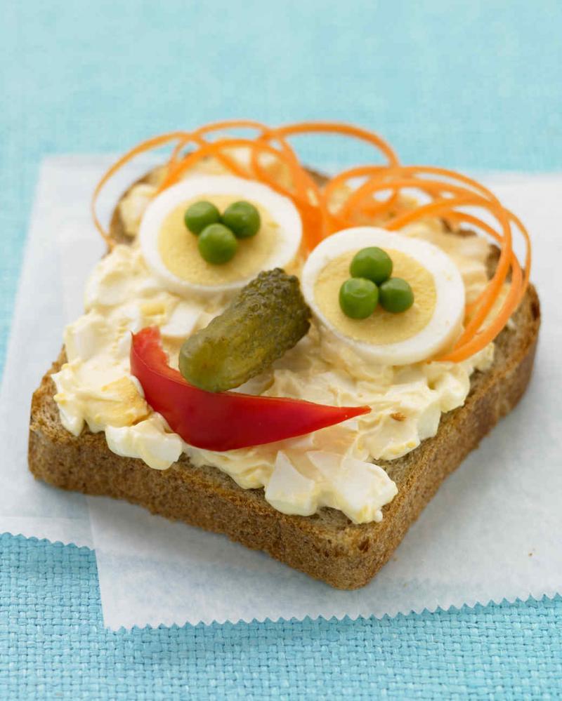Eye-catching snacks attract Kids.