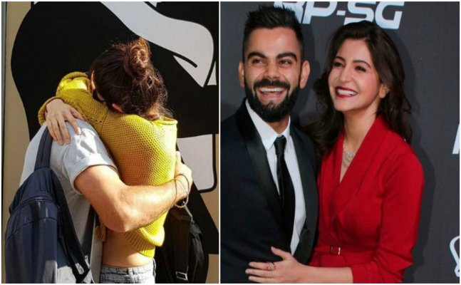 Virat hugging Anushka on Instagram melts