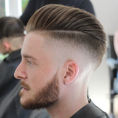 Awesome Hairstyles for Men | Pompadour by Side Highly Faded Hair