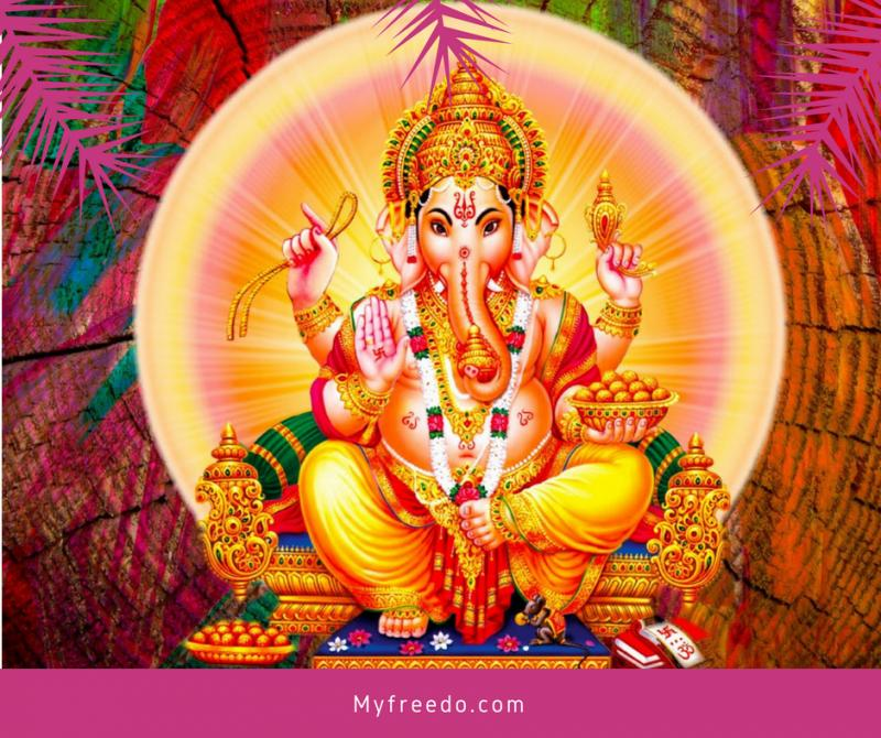 Shree Ganesh 108 Name and HD Wallpaper
